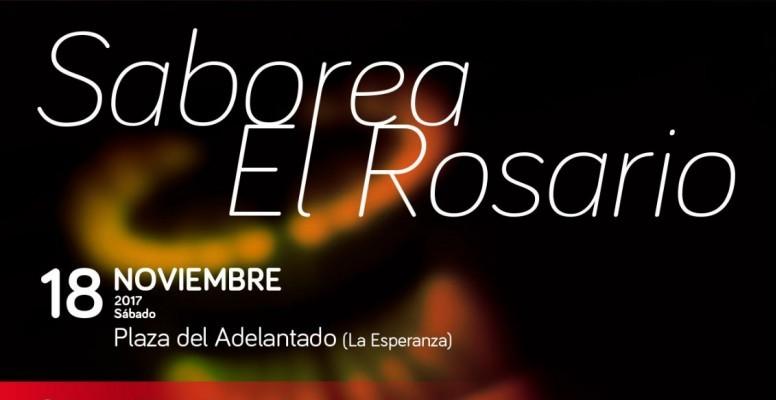 Cartel Saborea El Rosario 2017