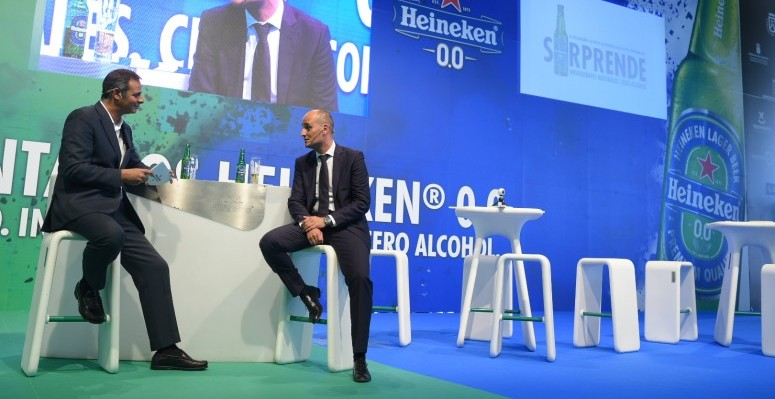 Momentos de la presentación de Heineken 0.0 en Gastrocanarias 2017
