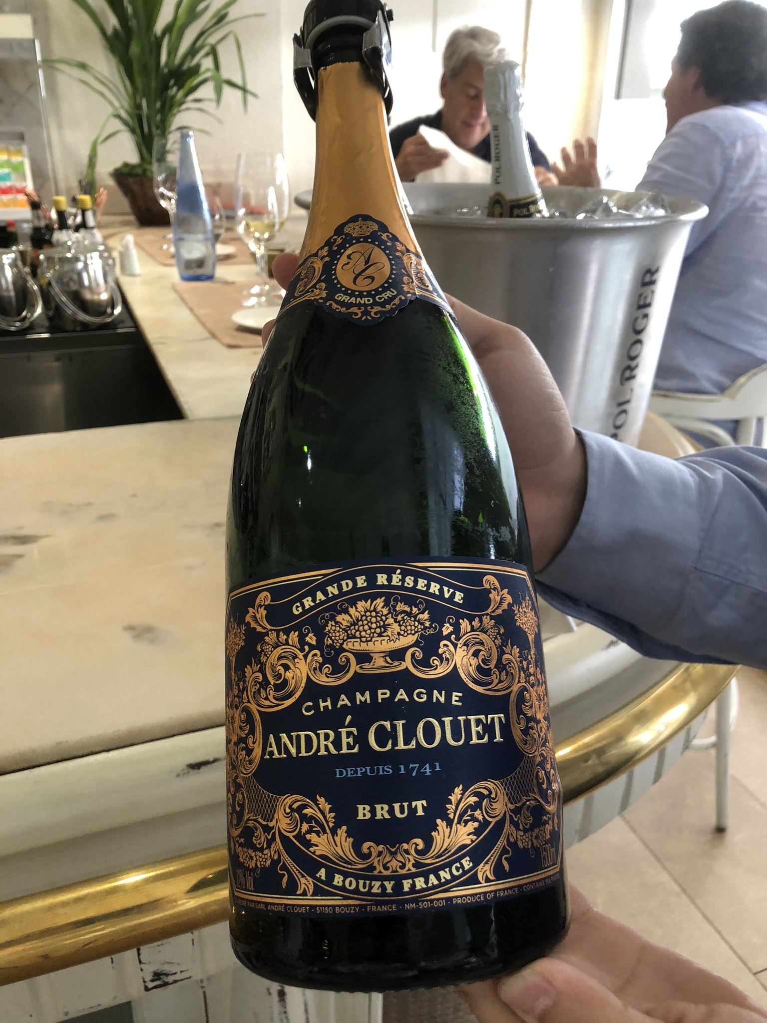 Champagne Andre Clouet Magnum