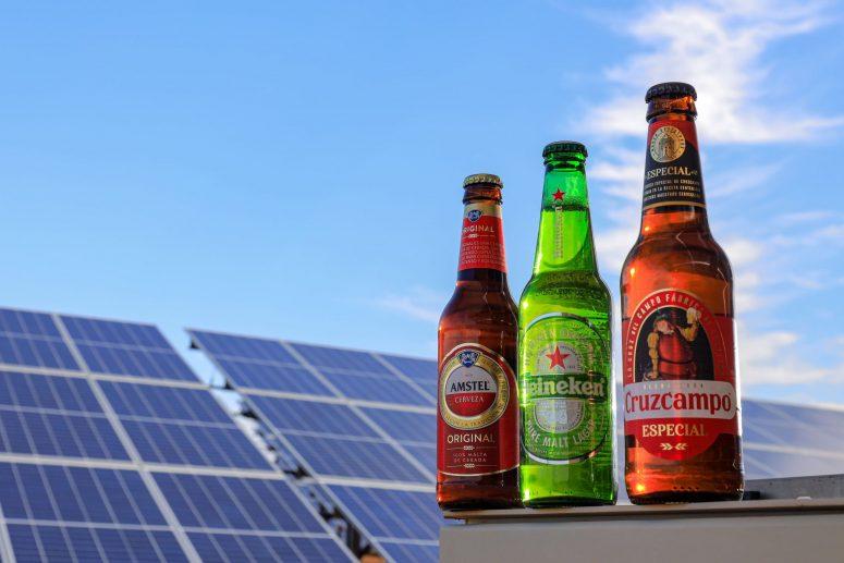 Cervezas Amstel, Heineken y Cruzcampo